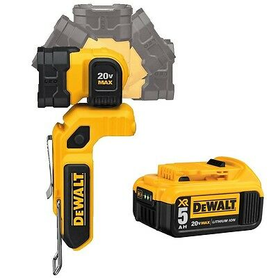 Brand New DEWALT DCL044 20V Max LED Hand Held Worklight + DCB205 5Ah Battery