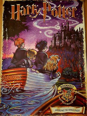 "Harry Potter Film Poster Journey to Hogwarts   24""x 17"""