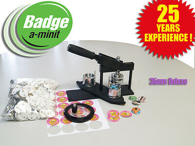 35mm Multipress Badge Making Machine with 250 buttons