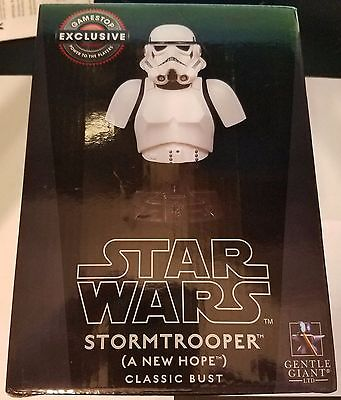 Star Wars A New Hope Stormtrooper Mini Bust by Gentle Giant Limited 4753 of 5000