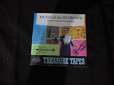 Music of the In Crowd Ricky Vale & The Surfers 7 1/2 I.P.S Tape *NEW IN PLASTIC*