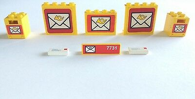 Lego Mailbox Letters Legoland from Post Office Set 6362 and 7731