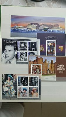 Lot Gibraltar S.s Mnh+ Stamps 3 Page