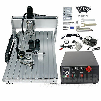 4axis CNC 6040  Router Drilling & Milling Engraver  Machine
