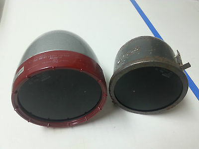 2x Vintage Photo Darkroom Lamps - Used