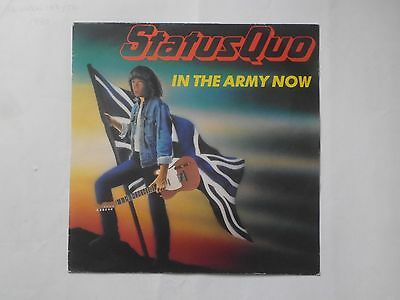 """Status Quo - In The Army Now (12"""" Record)"""