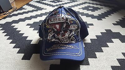 Authentic Ed Hardy by Christian Audigier Hat / Cap - Slate Blue