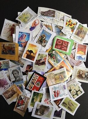 Recent Selection of Premium Australian Postage Stamps Collection Used Kiloware