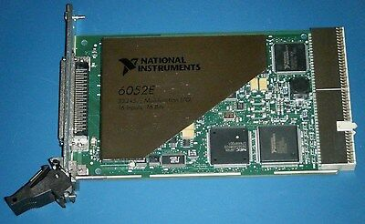 NI PXI-6052E 16-Bit Multifunction DAQ for PXI, National Instruments *Tested*