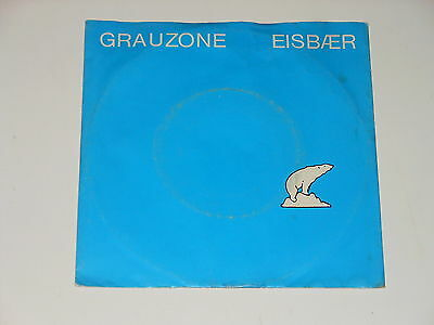 Grauzone - Eisbaer - rare 1981 Single - Minimal Synth / Cold Wave  - Welt-Rekord