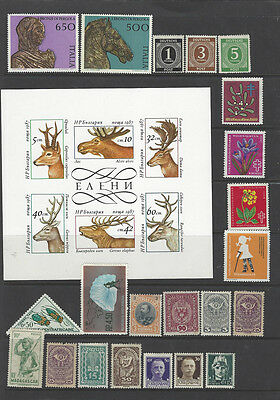 5 Pages of world Stamps MINT & MH