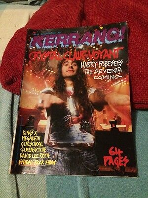 KERRANG  Great Classic Rock / Metal magazine 64 Page Issue  19/11/88  #214