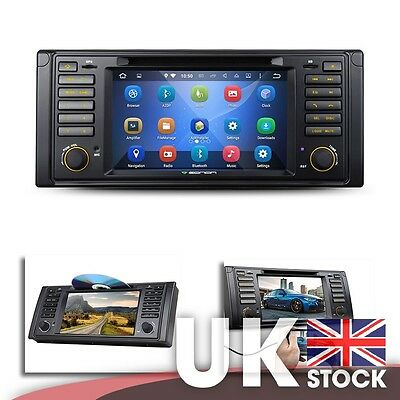 """Android 5.1.1 Quad-Core 7"""" Car DVD Player GPS with EasyConnection for BMW E39"""