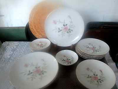 Vintage Picardy By Contour China Japan 17 Pieces