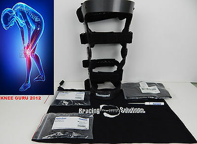 TOWNSEND REBEL PRO Knee Brace LARGE LEFT ACL PCL support  Hinged Size  L