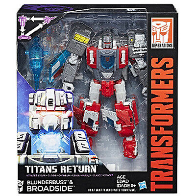 Transformers Generations Titans Return Wave 4  Voyager # Blunderbuss & Broadside
