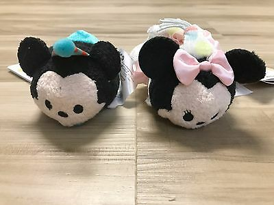 Authentic US Disney Mini Tsum Tsum Birthday Mickey and Minnie Mouse
