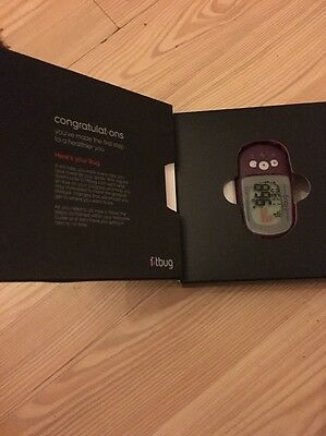 Fitbug Air Black Bluetooth Fitness and Wellness Activity Tracker iPhone Android