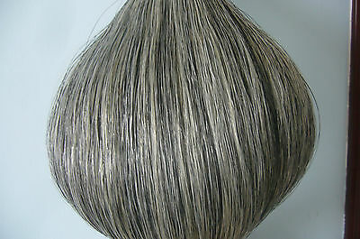 New Light Grey Horse Tail Hair Extension 85cm-90cm 1Lb