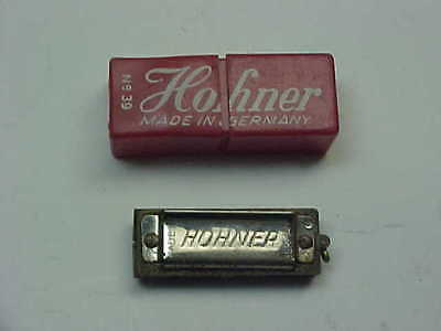 Mini No. 39 Hohner Made In Germany Harmonica