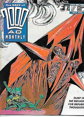 Best of 2000 AD Monthly #44 (1989) Nemesis Book III by Mills & O'Neill
