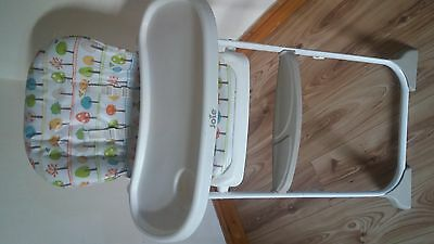 Height Adjustable Baby High Chair Recline Highchair Feeding Seat Cushion Tray