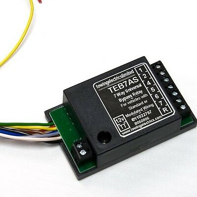 12v DC Smart 7-Way Multiplex / CAN-Bus Relay for Towing