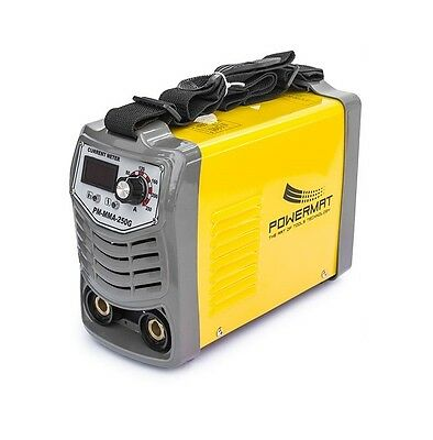 POWERMAT 250AMP (PM-MMA-250G) inverter MMA / ARC  welder with LED display