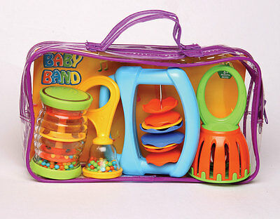 Halilit Baby Band -  Set Of Four Musical Toys  - NEW