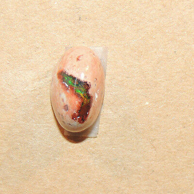 Mexican Fire Opal 13.5x8.5mm with 8mm dome Cabochon (11725)
