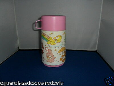 Care Bears Lunch Box Thermos Flask. Vintage 1986 by Aladdin