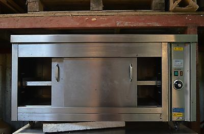 Catering stainless steel hot cupboard