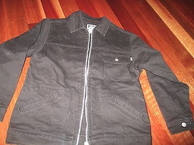 Versace Young Boys Black Jacket Size 10