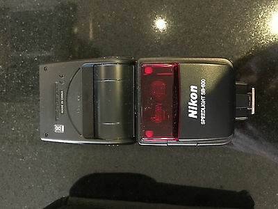 Nikon Speedlight flashgun SB-600 Shoe Mount Flash MINT- boxed + case + manual