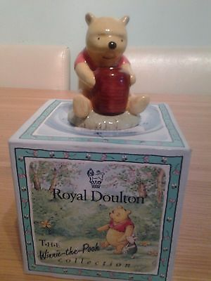 Royal Doulton 70 years of Classice Winnie the Pooh WP1 { and the Honey Pot)
