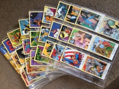 DC STARS by Skybox Trading Cards 1 Full Set