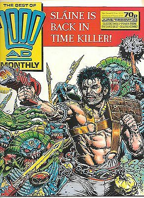 """Best of 2000 AD Monthly #33 (1988) Slaine """"Time Killer"""" part 1 (of 2)"""