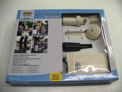 New, Ring Automotive 12V Portable Shower, Camping