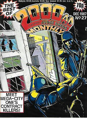 Best of 2000 AD Monthly #27 (1987) Harry 20 on the High Rock Pt 1 (of 2) + Dredd