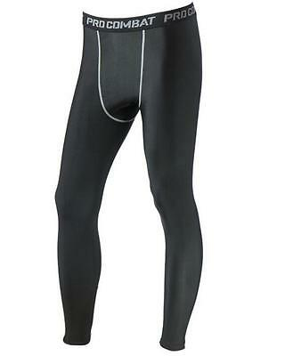 Men Sports Apparel Skin Tights Compression Base Under Layer Long Pants - Medium