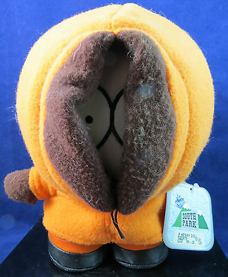 South Park Kenny McCormick Plush Figure w/tags 1998