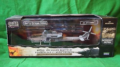 Unimax Forces Of Valor Us Ah-1Z Cobra Helicopter 1/72 #88600