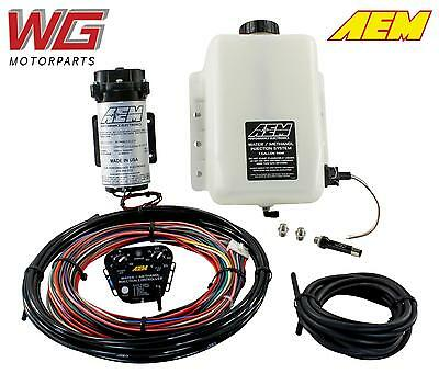 AEM V2 1 Gallon Water Meth Injection Kit (WMI) for Turbo Vehicles 30-3300