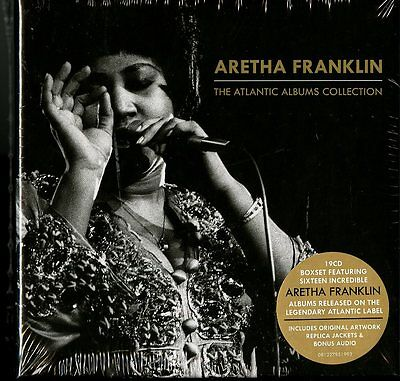 Aretha Franklin -The Atlantic Albums Collection New CD