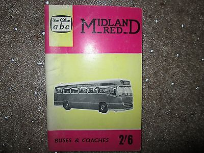 Midland Red  Busses and Coaches  Edition by Ian Allen 1961