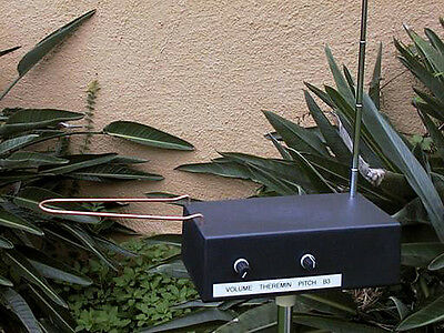 Burns B3 Theremin - Pitch AND Volume Antennas Theriman  SALE!