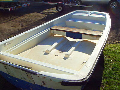 DELL QUAY DORY 13FT Boat Hull only.£295 Winter bargain
