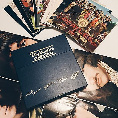 Rare Mint The Beatles Collection 14 LP Limited Edition