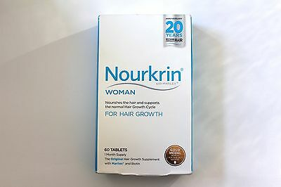 Nourkrin Woman Hair Nutrition Programme - 60 Tablets - 1 Month Programme