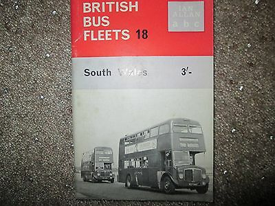 British bus fleets No 18 First  Edition  South Wales